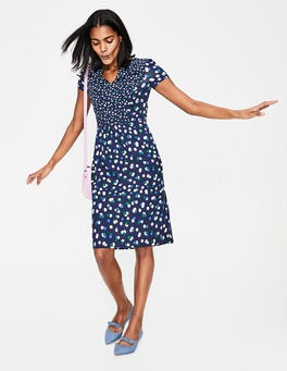 Blues Fallen Blossom Emory Jersey Dress