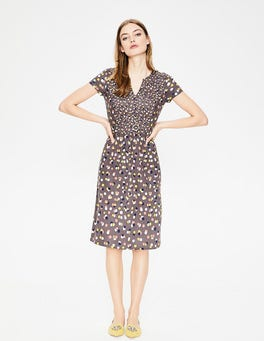 Pewter Fallen Blossom Emory Jersey Dress