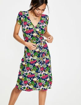 Multi Bouquet Summer Wrap Dress