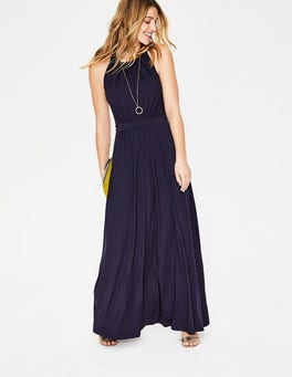 Navy Felicity Jersey Dress