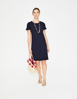 Navy Emily Jersey Dress