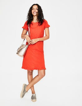 Blood Orange Emily Jersey Dress