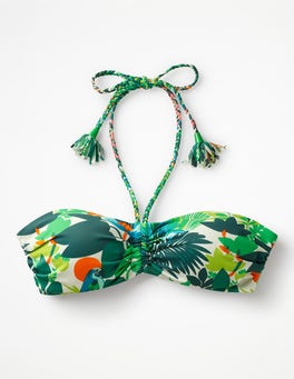 Multi Tropical Rinella Bikini Top