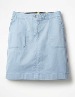 Lavender Blue Chino Skirt