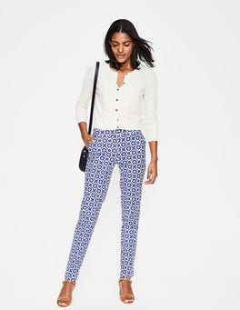 Greek Blue, Daisy Chain Richmond Trousers