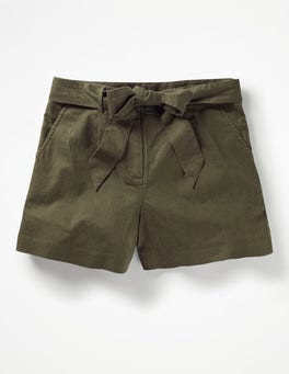Khaki Cora Shorts