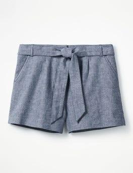 Chambray Cora Shorts