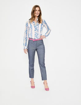 Chambray Mina 7/8 Trousers