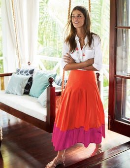 Lynne Colour Block Skirt