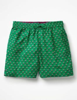 Sapling, Ditsy Woodblock Talia Shorts