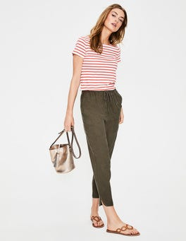 Khaki  Lottie Trousers