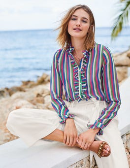 Kathleen Ruffle Shirt