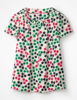 Ivory Pretty Posy Carey Top