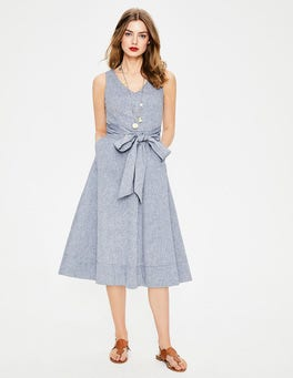 Faux-Uni Jade Kleid