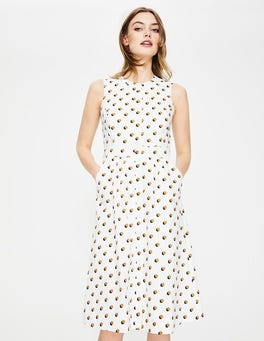 Gingerbread Shadow Spot Leila Shirt Dress