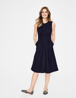 Navy Leila Shirt Dress