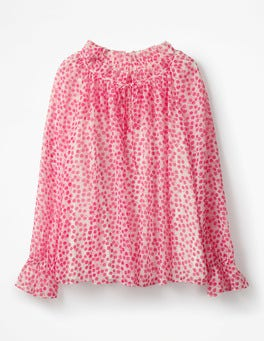 Carnival Pink, Pretty Posy Florence Top