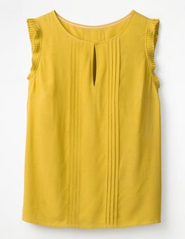 Mimosa Yellow Clara Top