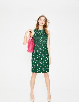 Sap Green Dandelion Martha Dress