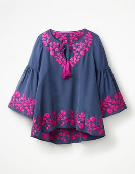 Mariner Blue Corrina  Top