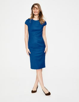 Riviera Blue  Claremont Dress