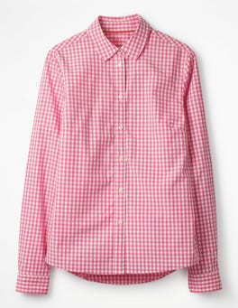 Petunia Pink Gingham The Classic Shirt