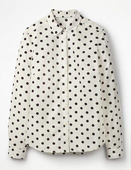 Ivory, Black Spot The Classic Shirt