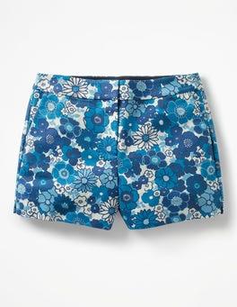 Blues, Swinging Floral Swim Richmond Shorts