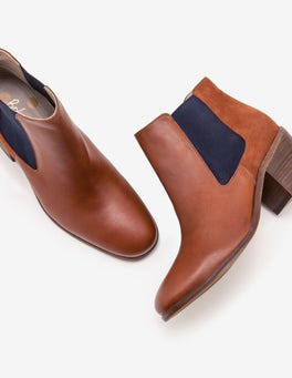 Tan Clapton Ankle Boots