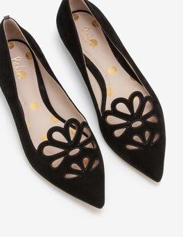 Noir Chaussures plates Eloise
