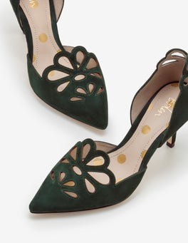 Chatsworth Green Eloise Mid Heels