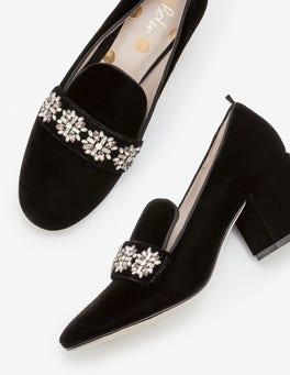 Black Julia Heels