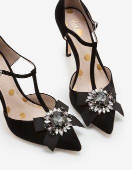 Black Cordelia Heels