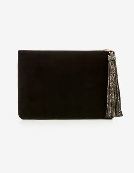 Black Ottilie Clutch