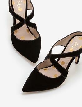 Black Kelsey Heels