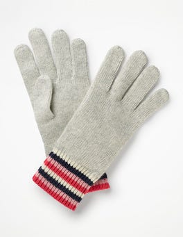 Stripe Detail Gloves