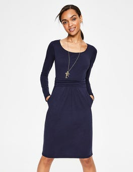 Navy Mabel Jersey Dress