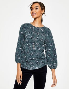 Kieferngrün, Herbstlaub Freya Jersey-Shirt