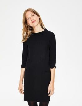 Black Alexandra Jersey Tunic