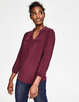 Mulled Wine Bea Jersey Top