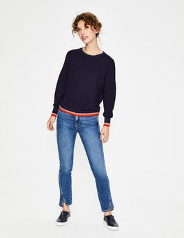 Navy Renee Sweatshirt