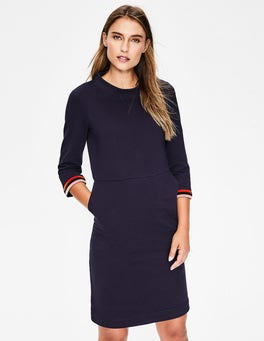 Navy Livia Sweatshirt Dress