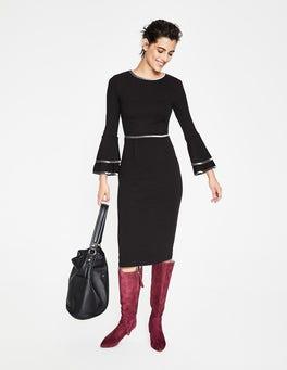 Black Cora Jersey Dress