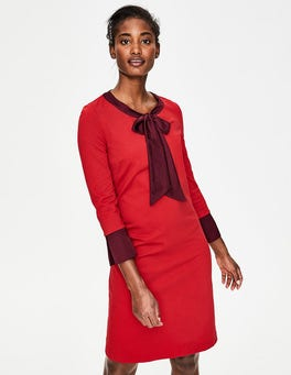 Poinsettia Josie Ponte Dress