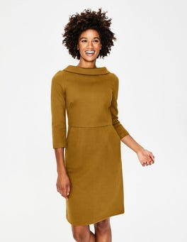 Trumpet Estella Jacquard Dress