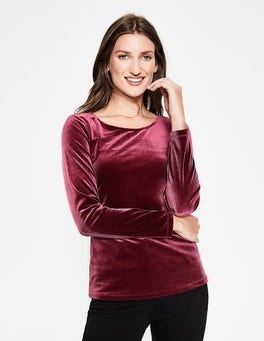 Mulled Wine Suki Top