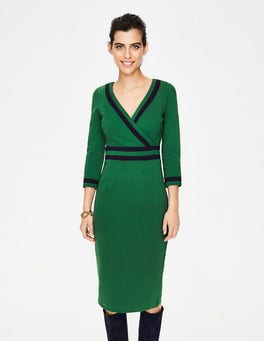 Amazon Green Nellie Ponte Dress