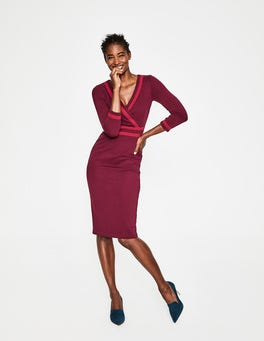 Mulled Wine Nellie Ponte Dress