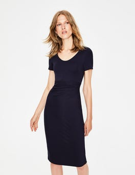 Navy Madison Ponte Dress