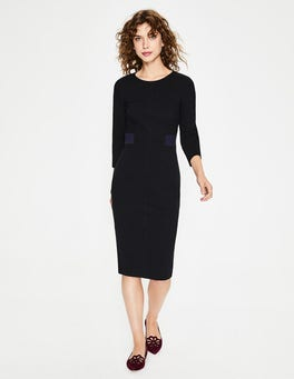 Black Laura Ottoman Dress